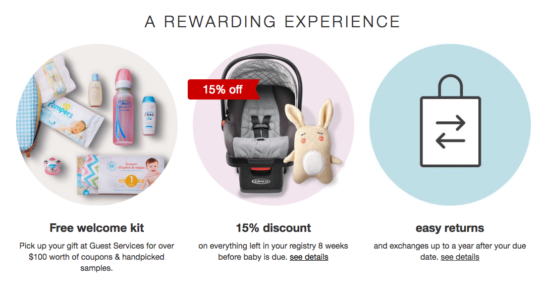 Create a Target Baby Registry & Get a FREE $100+ Gift Bag