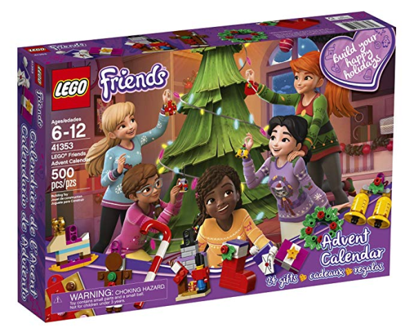 2018 lego friends advent calendar only my dfw mommy. Black Bedroom Furniture Sets. Home Design Ideas