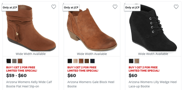 4ed51dcee2b2 B1G2 FREE Boots at JCPenney Today Only - My DFW Mommy