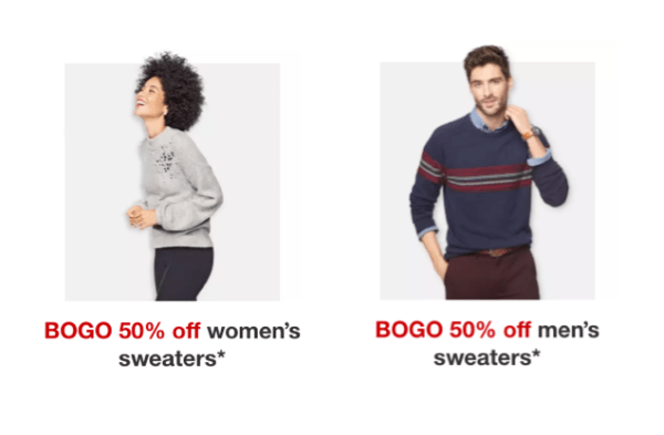 99be61f16aeda Target~ BOGO 50% Off Men's & Women's Sweaters This Week - My DFW Mommy