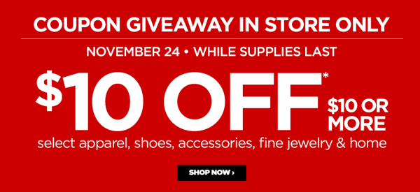 9dae6b5c5d9d5  10 off  10 JCPenney Coupon Giveaway In-Store Today Only - My DFW Mommy