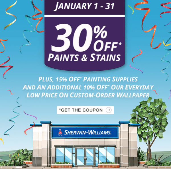 sherwin williams paint sale 2019