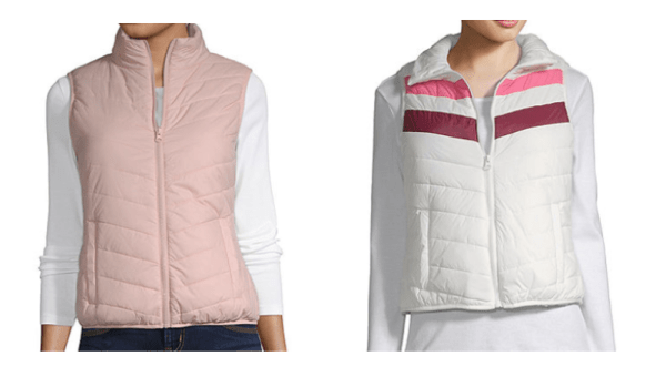 b69b6a6a426 Shop JCPenney where they dropped the price on these Arizona Junior Women s Puffer  Vests down to just  8.99 each! (regularly  39)!
