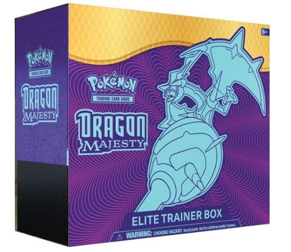 Pokémon TCG: Dragon Majesty Elite Trainer Box Trading
