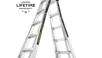 Gorilla Ladders 22-ft  Aluminum Multi-Position Ladder $99 88 - My