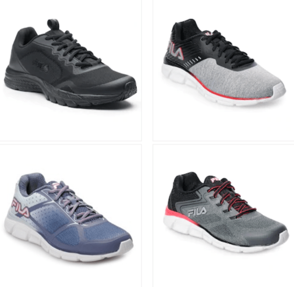 c11e4acc Kohl's~ FILA Men's & Women's Memory Foam Running Shoes $15.97 Today ...