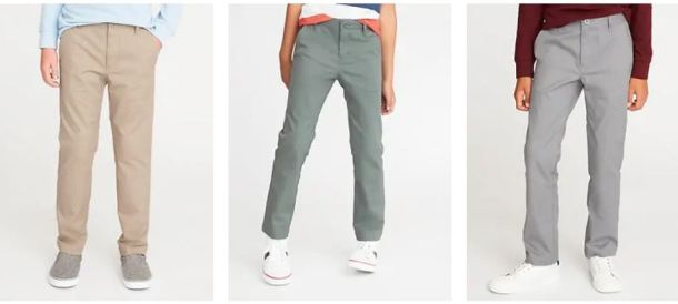 Girls and Boys Old Navy Uniform Pants $6 (Retail $16 99 – $24 99