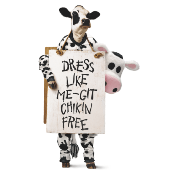 chick-fil-a cow appreciation