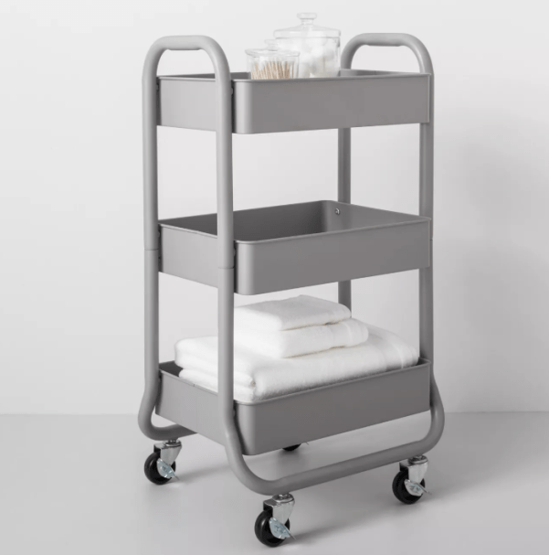 3-Tier Metal Utility Cart - Made By Design