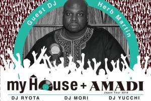 my House+ AMADI Japan Tour 2016
