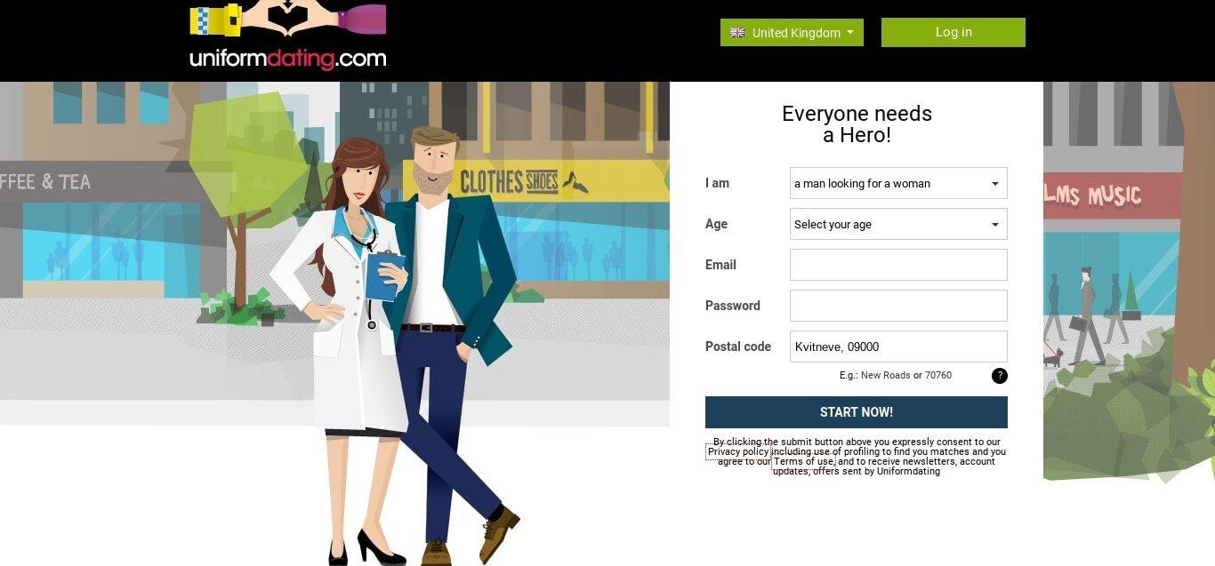 uniform dating uk website review