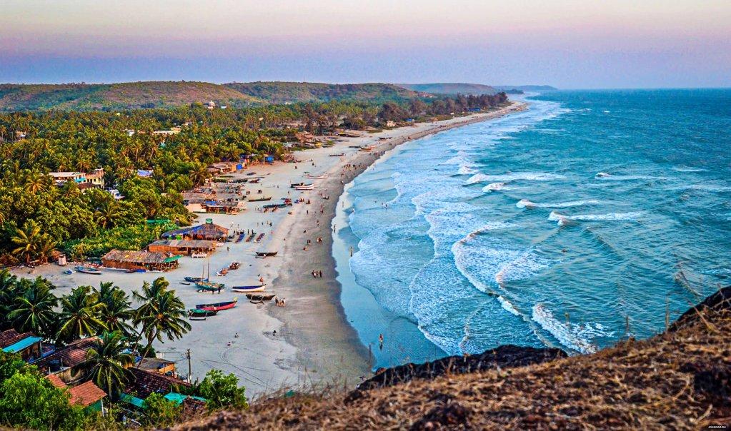 Arambol Beach, North Goa, India