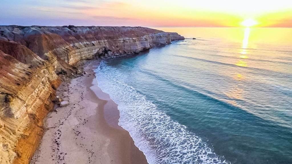 Maslin, Beach, Adelaide, South Australia