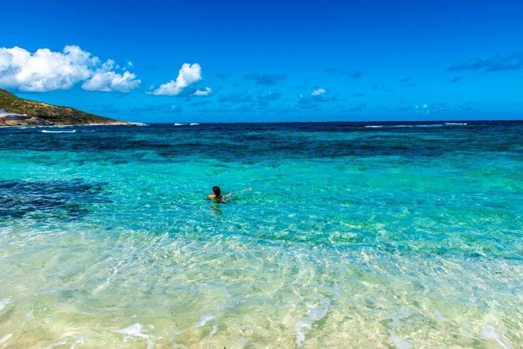 Orient Bay St Martin Nude Beach