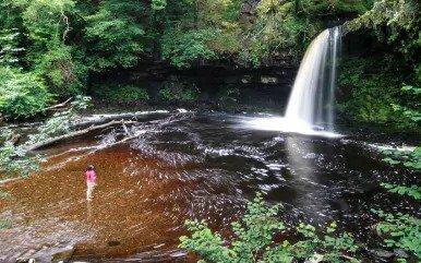 Lady Falls, Wales