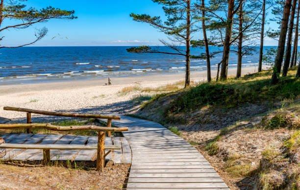 Vecaki Beach, Riga, Latvia