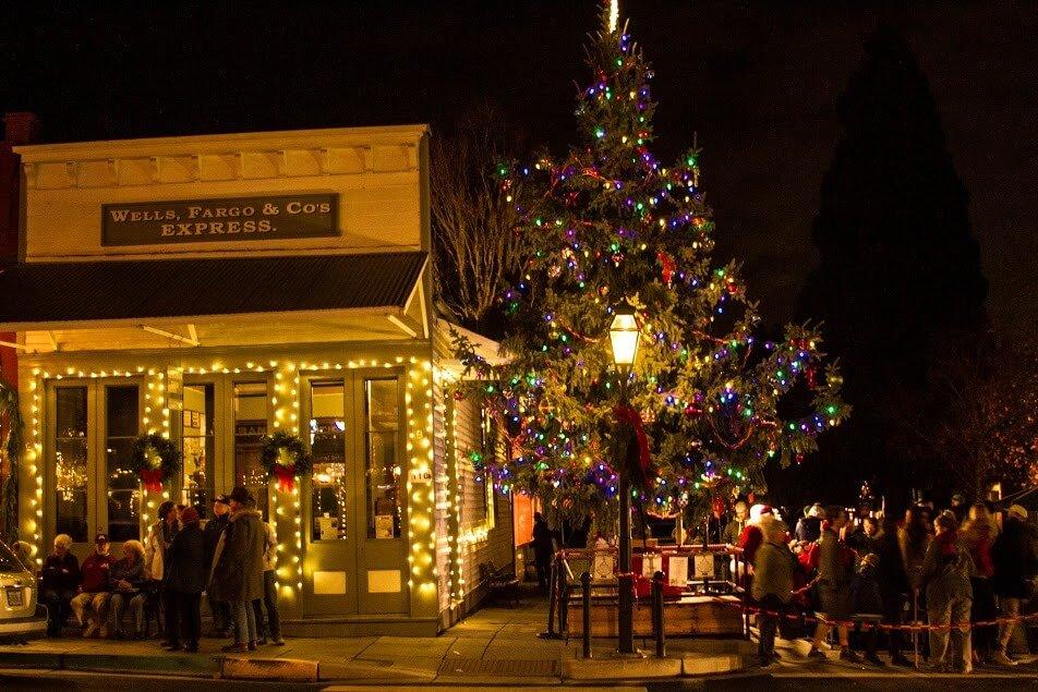 jacksonville oregon victorian christmas