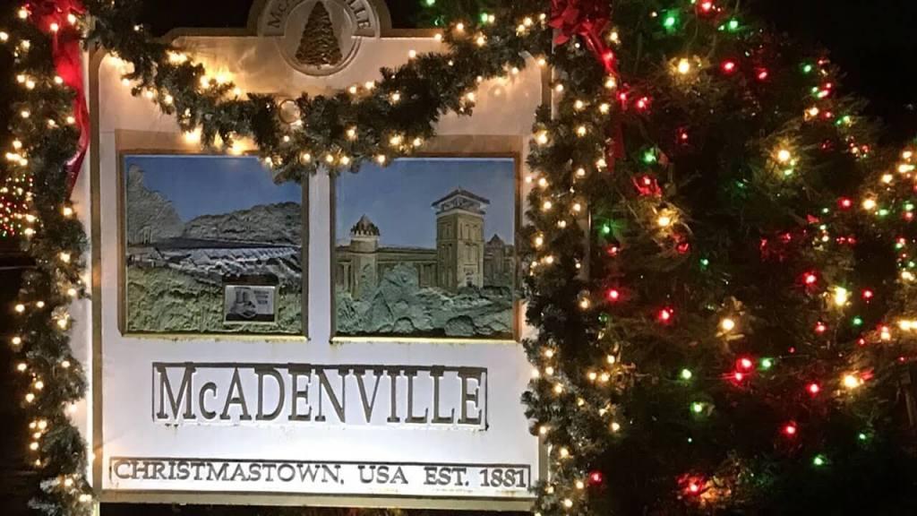 mcadenville nc christmas town usa
