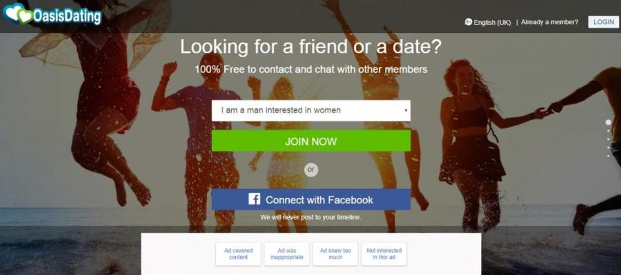 Oasis-Dating-website