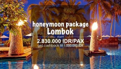 honeymoon package lombok