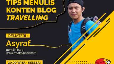 Pembicara travel blogger