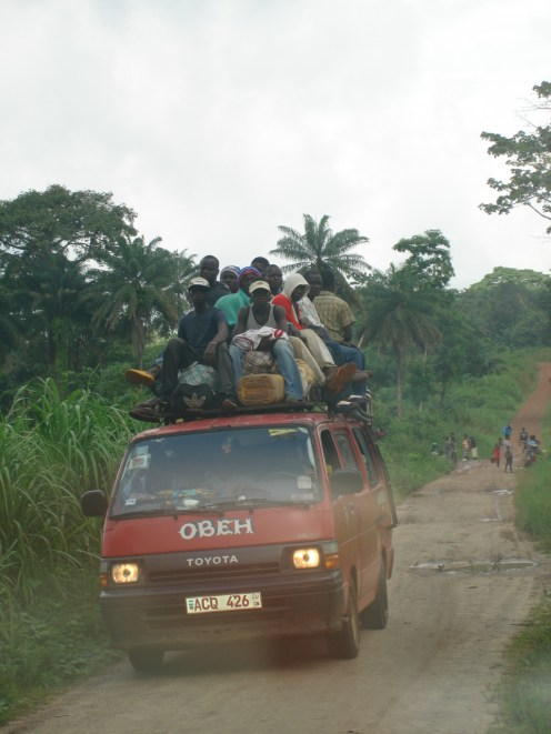 typical transport system in the bush