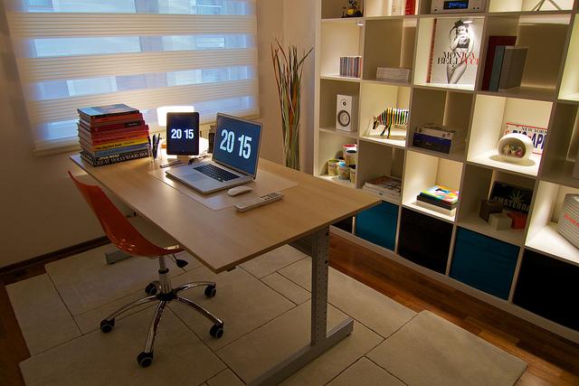 Interior Design Ideas: Walls, Desks & Lighting for Small ...