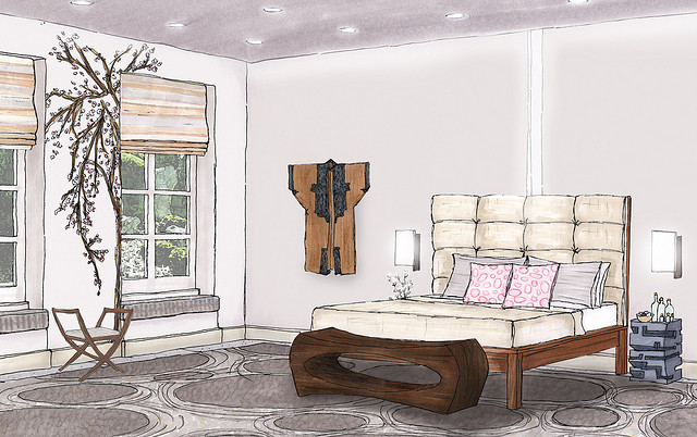 Role of the Interior Designers | My Decorative on Model Bedroom Design  id=36617