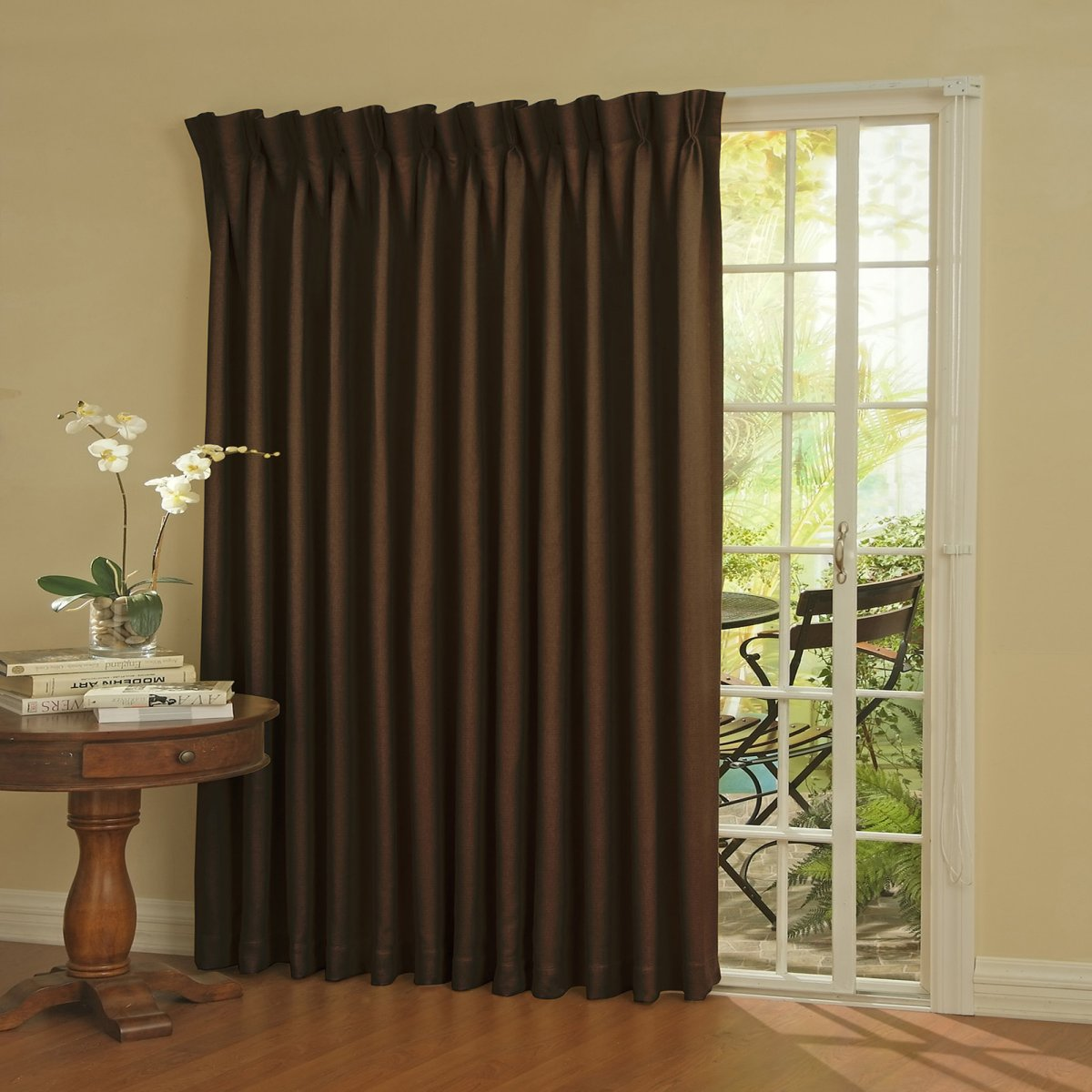 Curtain Ideas for Sliding Glass Door | My Decorative on Draping Curtains Ideas  id=74709