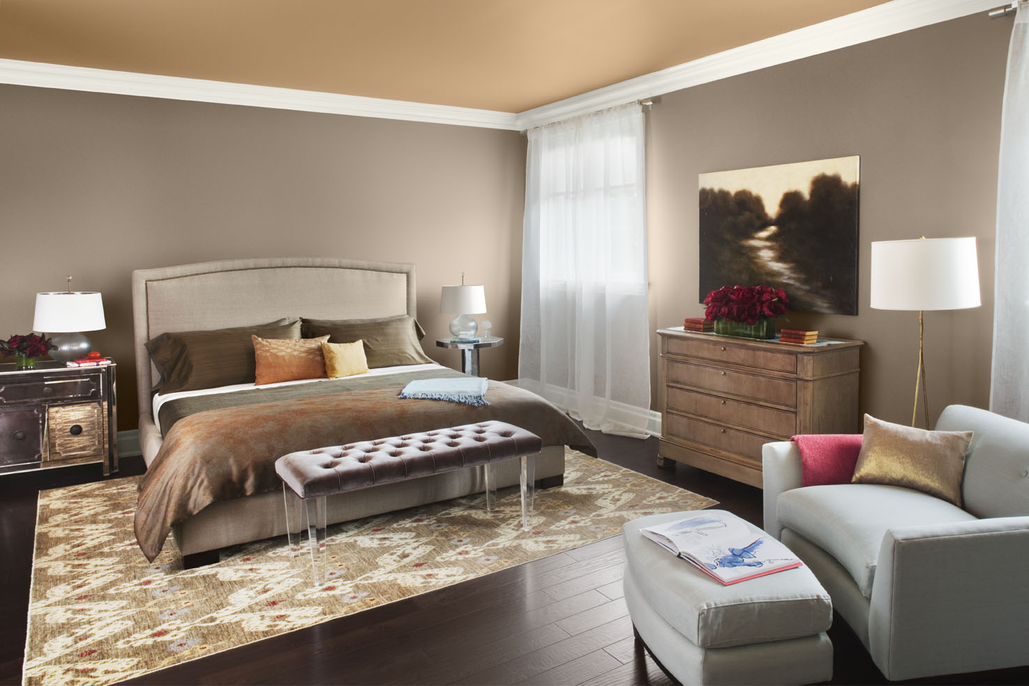 Color Ideas For Ceiling Interiors My Decorative