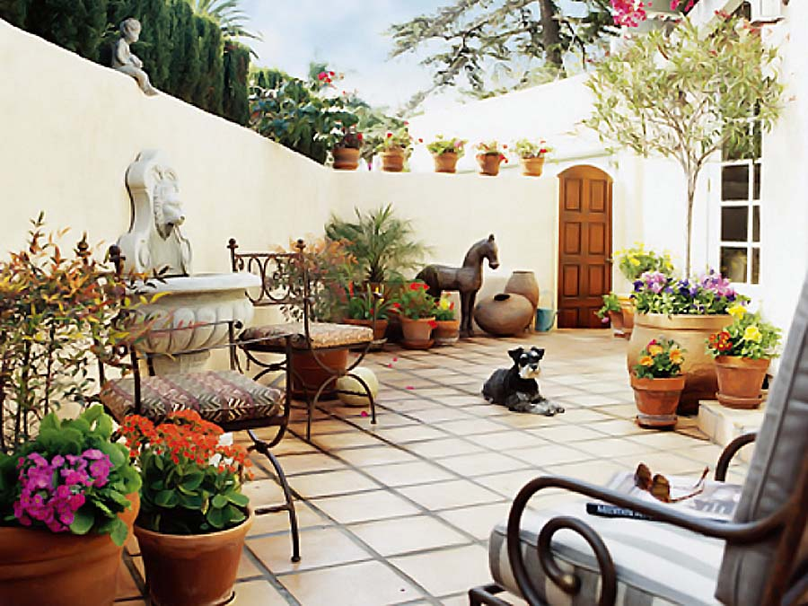 Magic of Terracotta for Your Décor | My Decorative on Mexican Backyard Decor id=25961