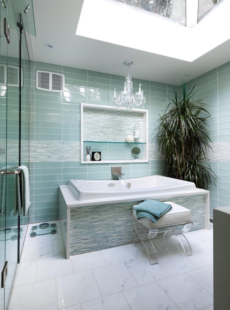 Turquoise Interior Bathroom Design Ideas   My Decorative on Bathroom Tile Design Ideas  id=34408