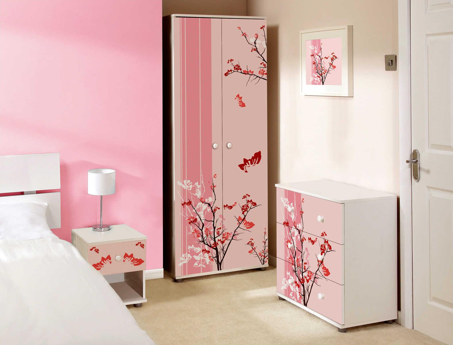 Pink Bedroom Ideas | My Decorative on Room Decor.  id=27413