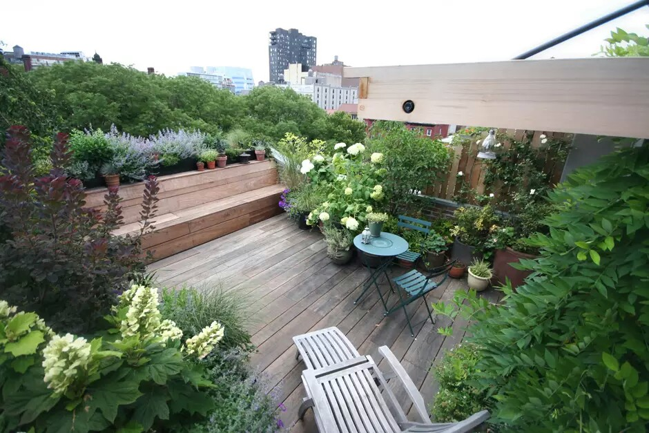 Terrace Gardens of New York City | My Decorative on Terraced House Backyard Ideas id=96603
