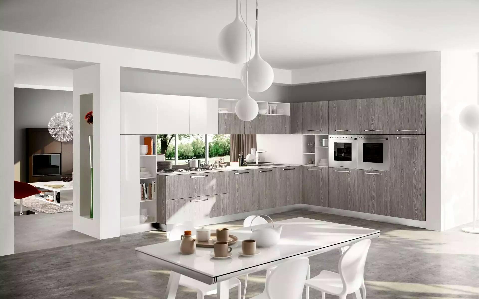 Bright and Sunny Kitchen Design ideas | My Decorative on Modern Kitchen Design Ideas  id=49773