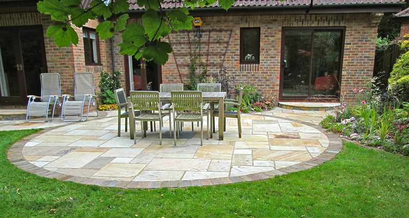 Garden Patio Designs Ideas! | My Decorative on Rock Patio Designs  id=88021