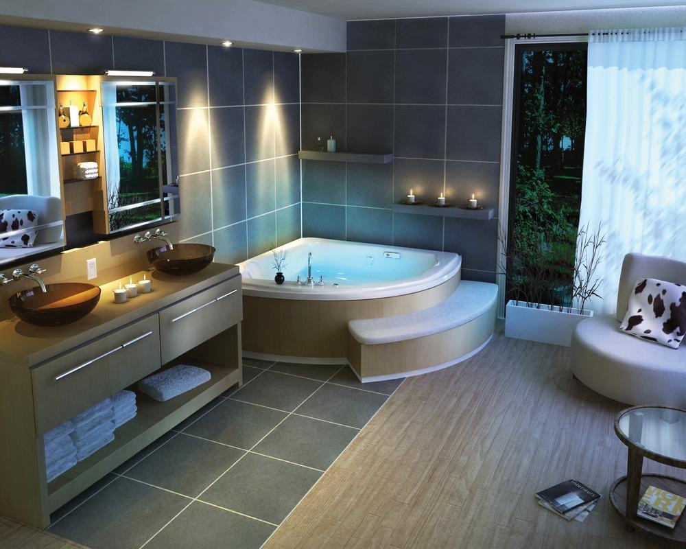 Best Kitchen Gallery: Bathroom Makeover Into Home Spa My Decorative of Home Spa Bathroom on rachelxblog.com