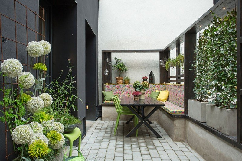Designs for Urban Gardens | My Decorative on Apartment Backyard Patio Ideas  id=93222