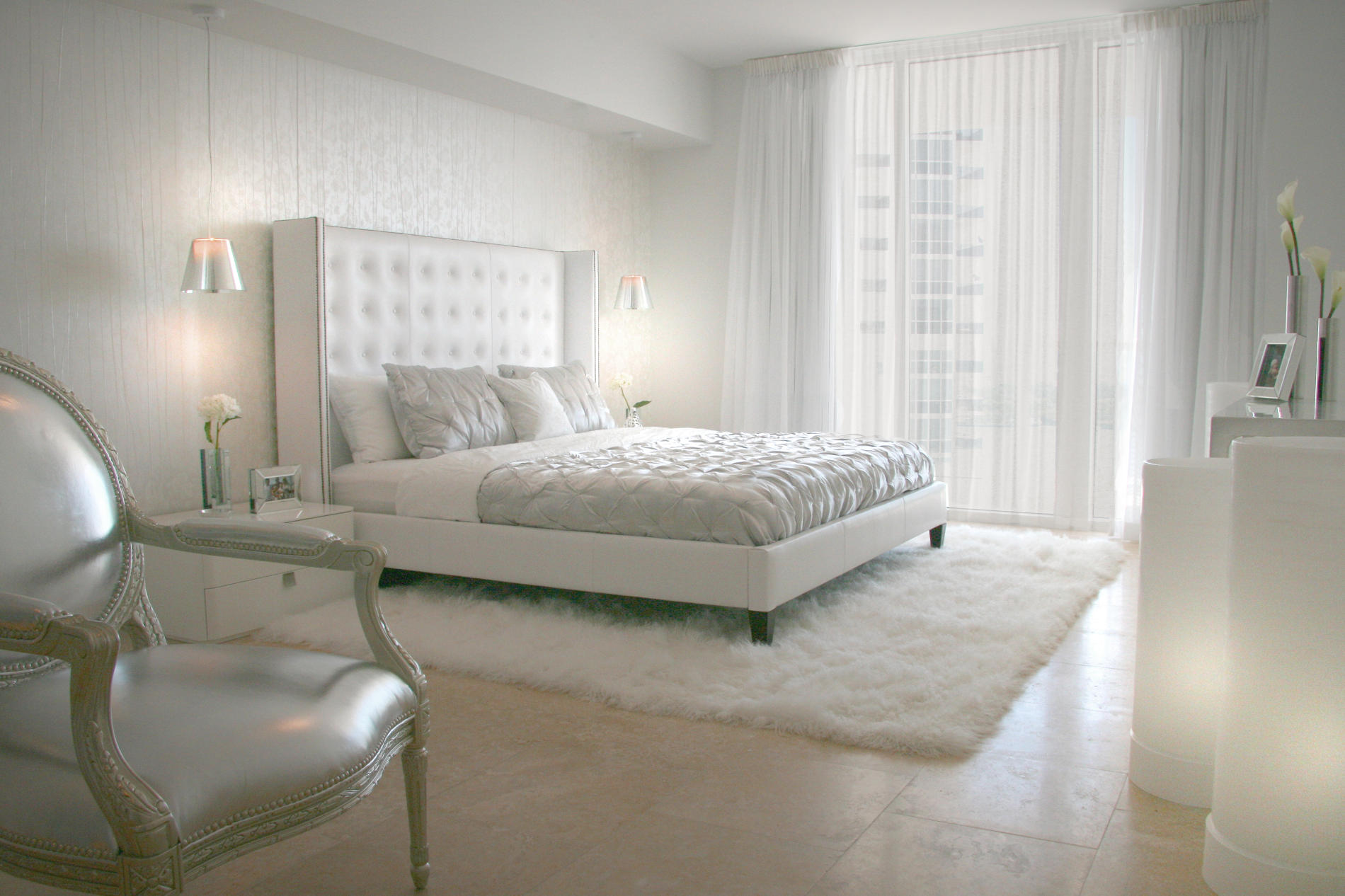 Your Bedroom Air Conditioning Can Make or Break Your Decor ... on Bedroom Curtain Ideas  id=30147