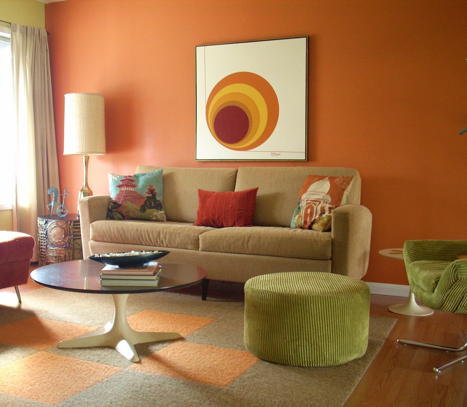Newly Wed: Tips to Décor Your New Home   My Decorative on Colourful Living Room  id=83740