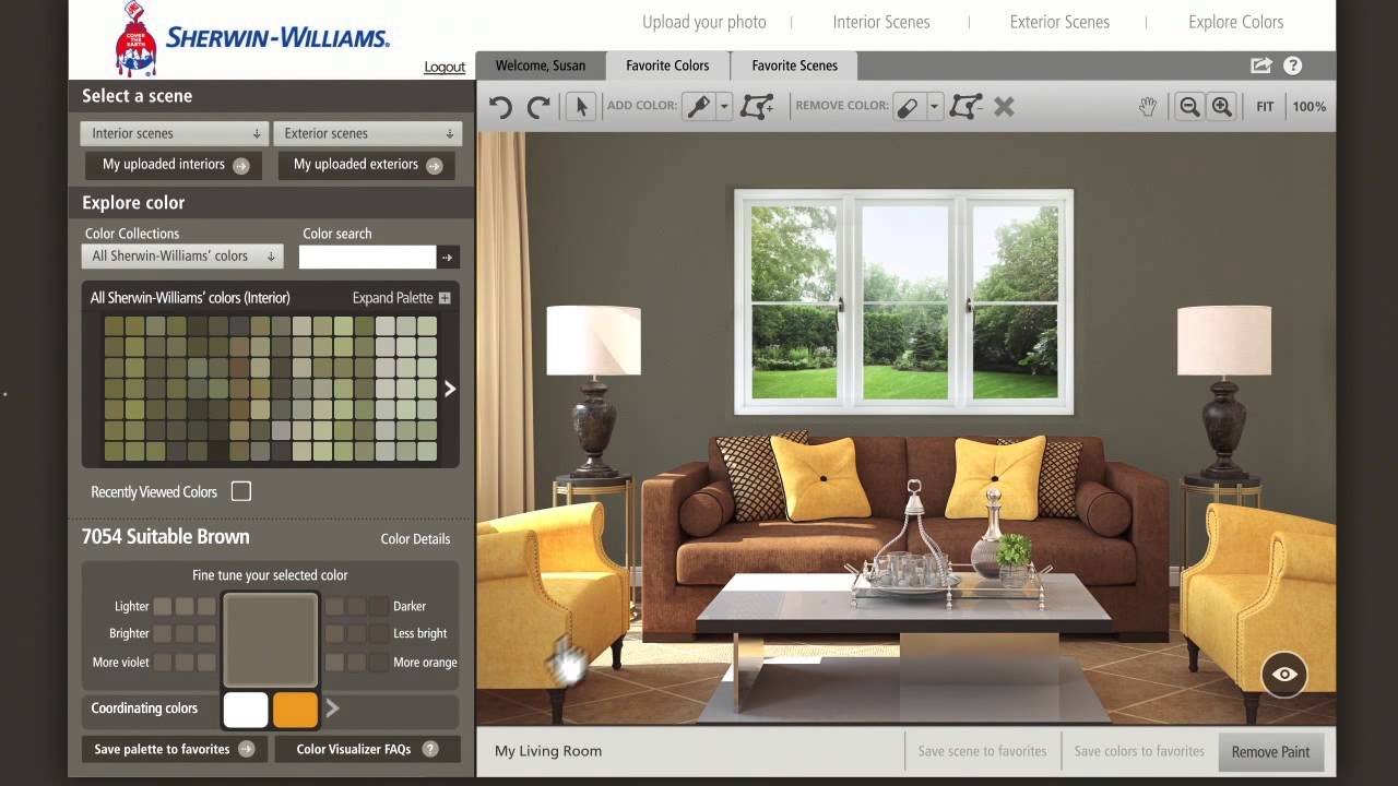 5 online design and editors tools for decorators my on paint colors online id=93512
