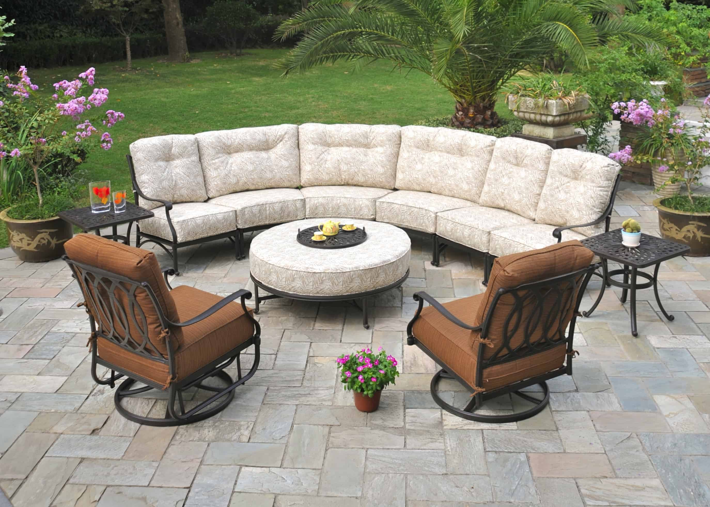 outstanding ways to decorate patio in arabian ranches on Backyard Outdoor Furniture id=20299