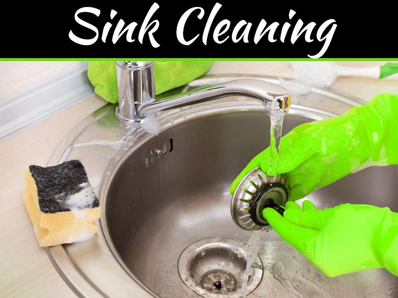 keep clean your kitchen sink