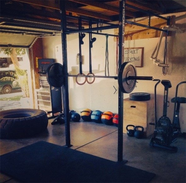 Use Garage Space As Gym
