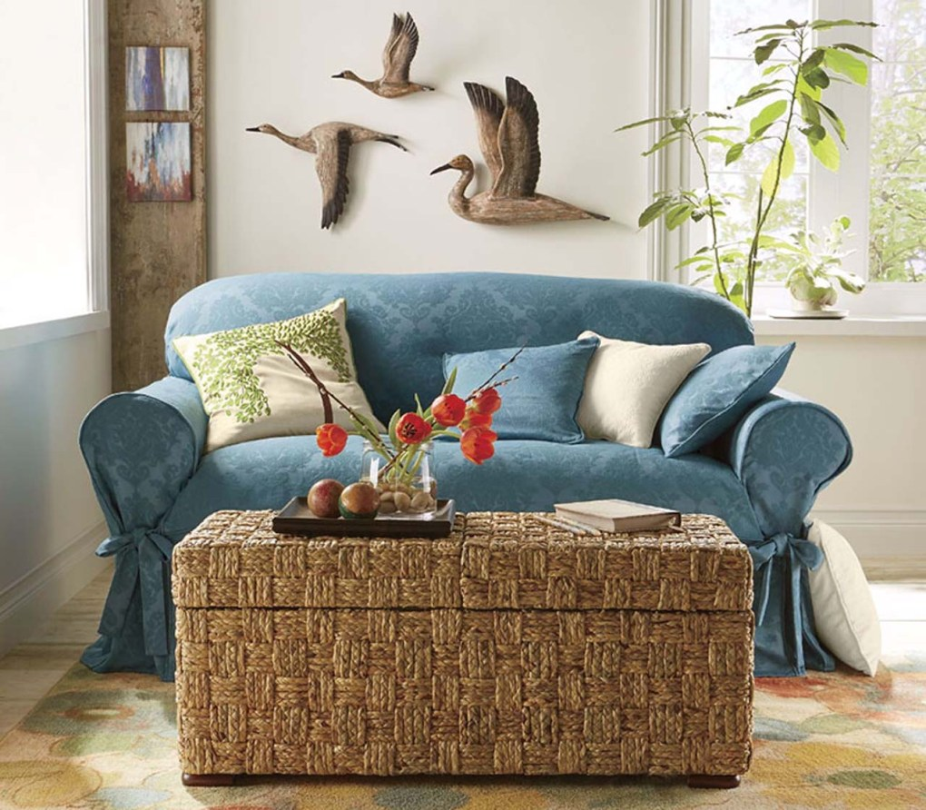 Slipcovers On Old Sofas