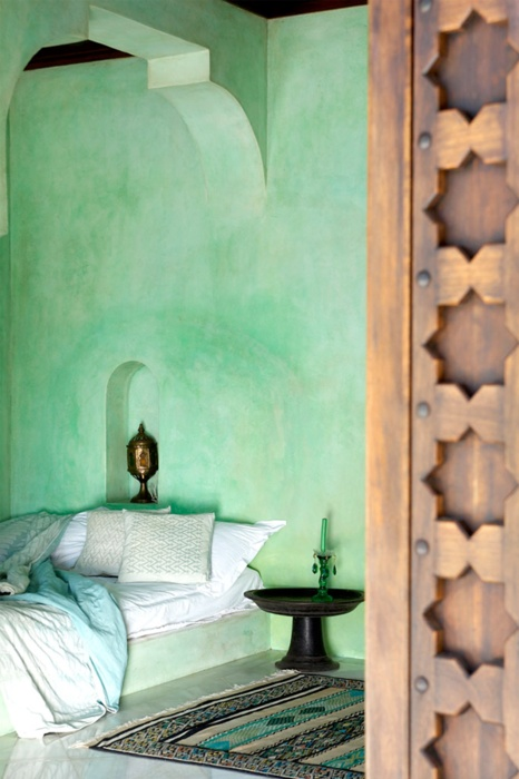 Don't you just love this Moroccan inspired bedroom?