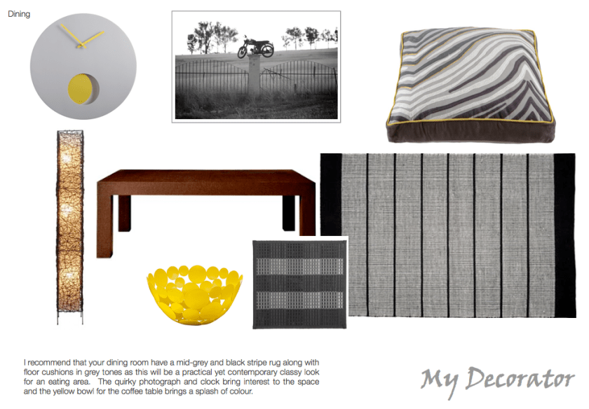 Dining Digital Moodboard