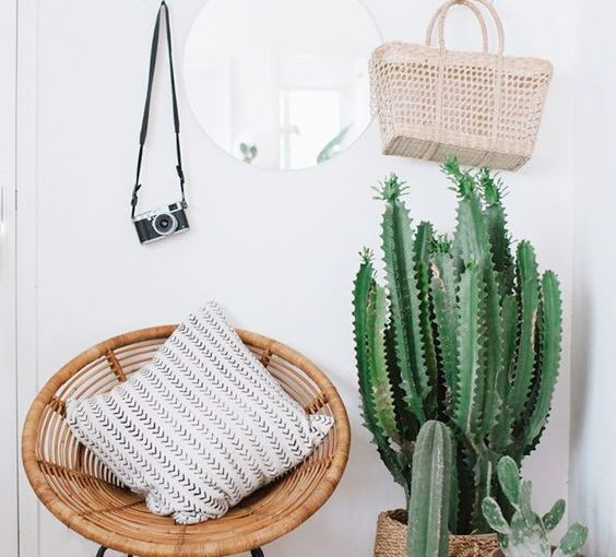 Decorate with natural fibers: add a summer air to your home