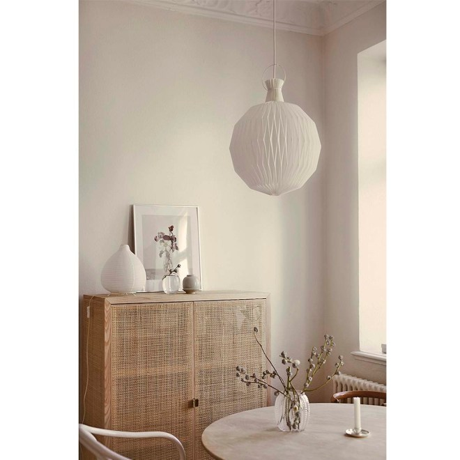 a modern and elegant lamp