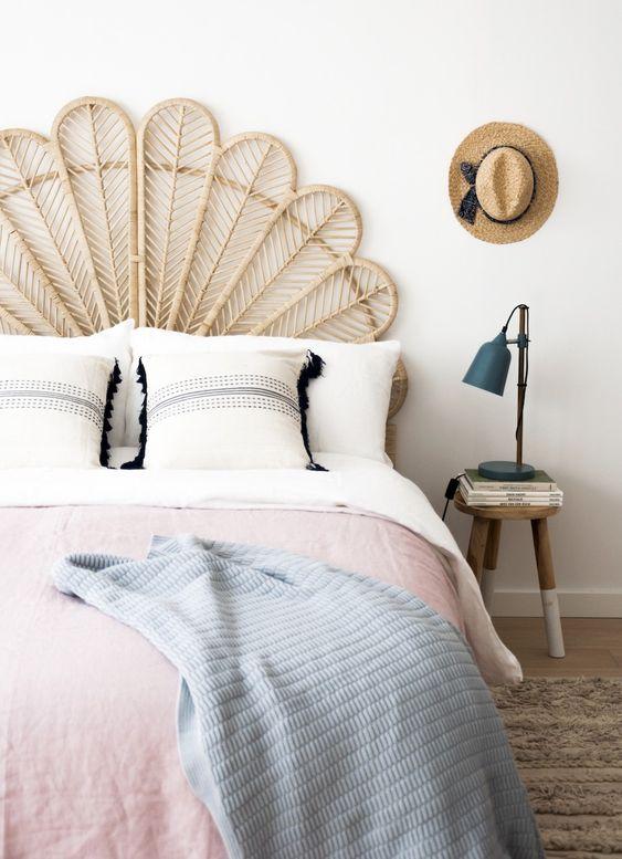 natural fiber bed